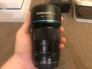 SIRUI 50mm F1.8 Anamorphic Lens/Obiettivo X-Mounth(FUJIFILM-X)+ 3 Accessori