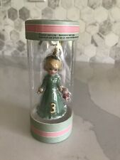 Enesco Growing Up Girls Blonde Ornament Age 3 4058391