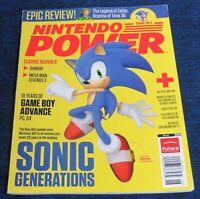 2011 Nintendo Power Magazine #268 June 3DS Sonic Generations NewsStand Variant