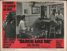 BLACK LIKE ME original 1964 lobby card JAMES WHITMORE 11x14 movie poster