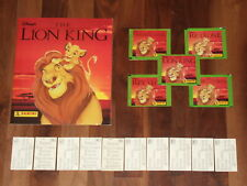 Disney's The Lion King 1994 near-empty Panini album,Complete loose 232 Stickers