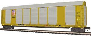 MTH 20-95445 UNION PACIFIC CORRUGATED AUTO CARRIER  O GA 3 RAIL # TTGX 697402