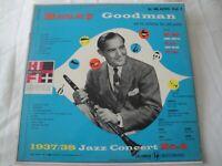 BENNY GOODMAN 1937-38 JAZZ CONCERT NO. 2 VOLUME 1 VINYL LP ALBUM 1950 COLUMBIA