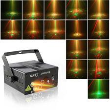 SUNY 5Len 80Gobo LED Laserlicht RG Projektor Bühnenbeleuchtung DJ Party Neu