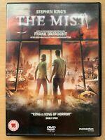The Mist DVD 2007 Stephen King Horror Movie with Thomas Jane