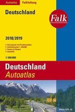 Falk Autoatlas Falkfaltung Deutschland 2018/2019 1:500 000 (2018, Karte)