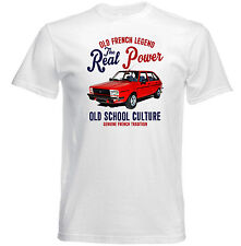 Vintage French car Renault 20tx-New Cotton T-Shirt