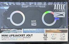 Altec Mini LifeJacket Jolt Bluetooth Speaker Black, NEW/SEALED