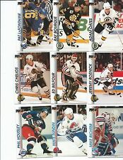 1992-93 Pro Set hockey complete your set 25 card lot, stars included!
