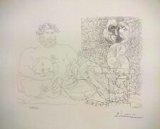 Pablo Picasso - Vollard Suite Bloch #169.  Estate Authorized Limited Edition.