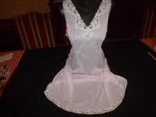 jolie combinaison & fond de robe vintage jolie dentelle taille  48 ref 8778