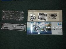 Trumpeter 1/32 P-38L-5-LO Lightning Kit 02227 Includes rubber tires, photo etch