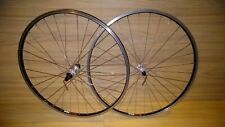 Shimano XTR Rear and Onza Front hub laced in SUN CR18 Rims