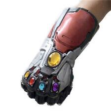 Avengers 4 Endgame Tony Stark Infinity Gloves Iron Man Gauntlet Cosplay Latex