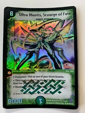Duel Masters DM06 Ultra Mantis Scourge of Fate Stomp-A-Trons of Invincible Wrath