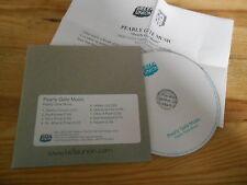 CD Indie pearlie Gate Music-same (9 chanson) promo Bella union CB + presskit