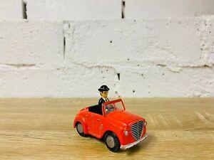 Mr Percival Thin Controller Red Car Thomas Take n Play/Take Along Diecast Trains