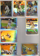 2010 Topps Chrome Refractor 21-Lot W/Fielder,Wright,C.Jones,M.Cabrera,Y.Molina,