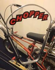 Raleigh Chopper Mk2 Classic Bicycle Windscreen - Orange & Black Decals