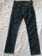 LEVIS 511 Skinny Men's 29 X 28* Dark Wash Cotton Blend Stretch Denim Jeans