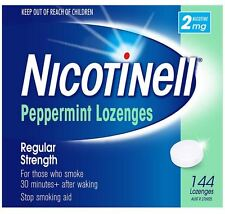 Nicotinell Peppermint Lozenges Mint 2mg 144 Bulk Pack