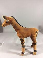 Vintage Steiff Okapi Antelope Velvet &mohair Missing Tail 60's