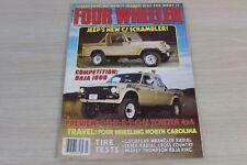 Four Wheeler Magazine March 1981 Jeep CJ Scrambler Baja 1000 Stretch Toyota 4x4