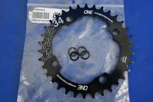 New OneUp Components N/W 34t Chainring - 104mm x 4 BCD
