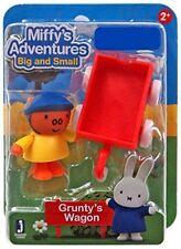 Miffy's Adventures Big & Small GRUNTY'S WAGON Mini Set New