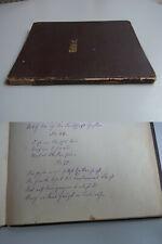 Handschrift um 1850: Rätsel & Scherzfragen, mit Lösungen -- Unikat