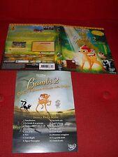 Locandina Dvd  BAMBI 2  (0)  Disney Video originale used + inserto