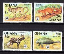 Ghana Scott 621-624 Mint NH (Catalog Value $41.00)