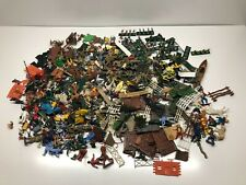 Job Lot Of Assorted Vintage Toy Plastic