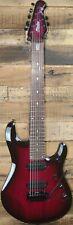 Sterling by Music Man JP70 7-String Electric Guitar Trans Purple Burst w/Bag NEW