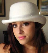 Gorras y sombreros de mujer bombines de lana