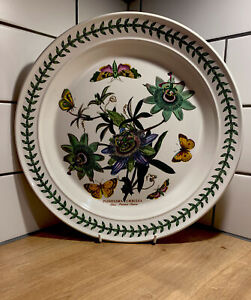 "Vintage Portmeirion 12"" SERVING PLATE - Blue Passion Flower - Second"