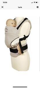 Manduca First Baby Carrier HempCotton Ecru/Brown Ergonomic Baby Carrier