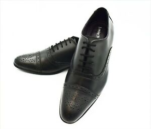 Mens Leather wedding Smart Formal Office Casual Lace Up Oxford party Shoes Size