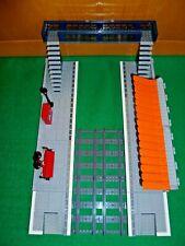 LEGO TRAIN TRENO EISENBAHN ZUG CITY BAHNHOF STAZIONE MODULAR STATION LOTTO MOC