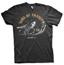 Officially Licensed Sons of Anarchy- Charming BIG&TALL 3XL,4XL,5XL Men's T-Shirt