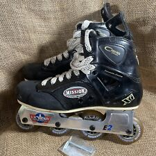Mission Control Series XI Size 9 Roller Hockey Skates See Note