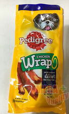 25g Pedigree Chicken Wrap Dog Snack Real Meat High Protein Low Fat
