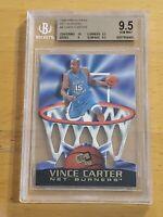 1998 Press Pass Net Burners Vince Carter POP 1 BGS 9.5 Only 4 PSA 10 Very Rare!!
