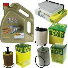 Inspektionskit Filter Castrol 5L Oil 5W30 For VW Caddy III Estate 2KB 2KJ