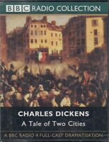 A Tale of Two Cities Charles Dickens 4 Cassette Audio Book BBC Radio Cast Drama