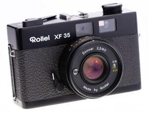 Rollei XF 35 mit Sonnar 40 mm f 2,3 Rangefinder Brass / Messing Version VERY RAR