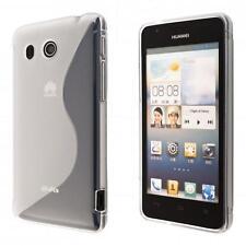 Huawei Ascend G525 custodia protettiva morbida trasparente case cover