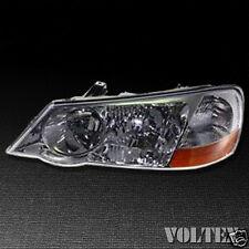 2002-2003 Acura TL Headlight Lamp Clear lens Halogen Driver Left Side