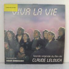 """Didier Barbelivien–Viva La Vie (B.O. Du Film De Claude Lelouch) (Vinyl 12"""" LP"""