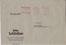 Firmenbrief m. Freistempel Berlin, Zeitungen Horizont / Weltbühne, 1983, Werbung
